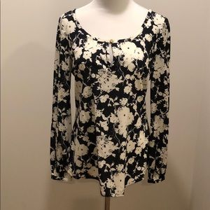 Tory Burch floral blouse